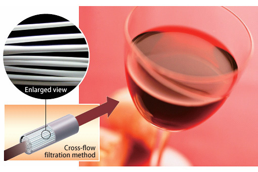 Hollow Fiber Membranes for Wine Production